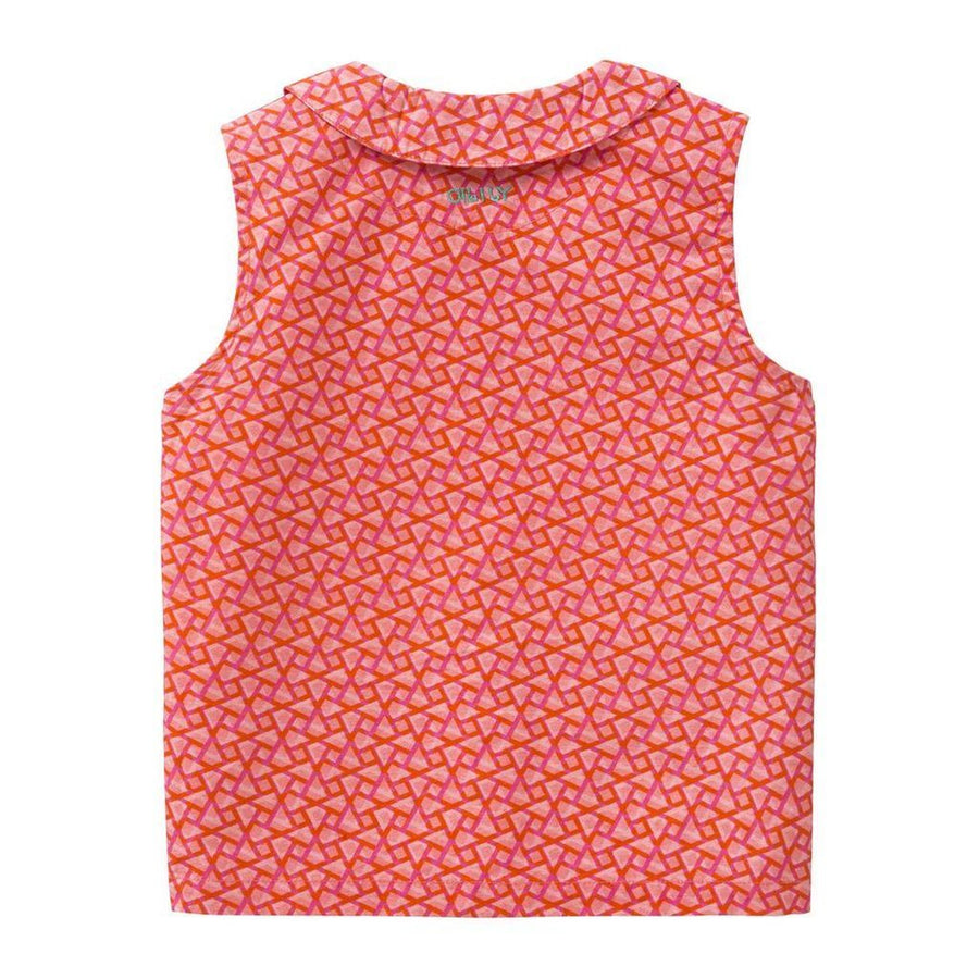 Oilily Red Babba Blouse-Shirts-Oilily-kids atelier