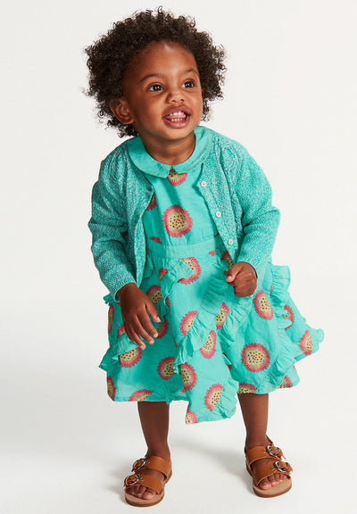 Oilily Doozel Light Blue Dress-Dresses-Oilily-kids atelier