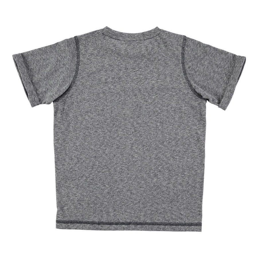 Molo Rod Dark Blue/Grey Melange Tops-T-Shirt-Molo-kids atelier