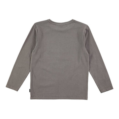 Molo Remy Pewter Tops-T-Shirt-Molo-kids atelier