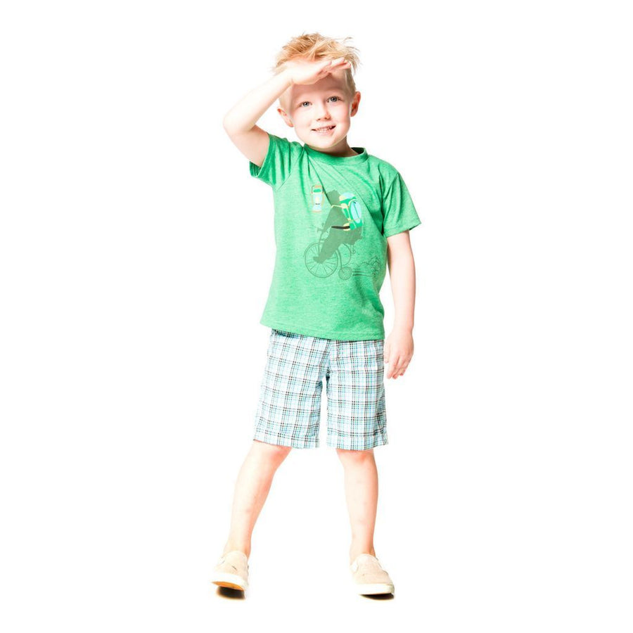 Deux Par Deux Golf Green Top-Shirts-Deux Par Deux-kids atelier
