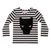 BangBang Copenhagen Panther Striped T-Shirt