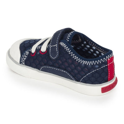 See Kai Run Saylor Navy Sneaker-Shoes-See Kai Run-kids atelier