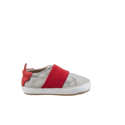 Old Soles Bambini Master Gris / Bright Red Shoes-Shoes-Old Soles-kids atelier