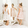 LUNA LUNA OLYMPE MESH ROSE DRESS-Dresses-Luna Luna-kids atelier
