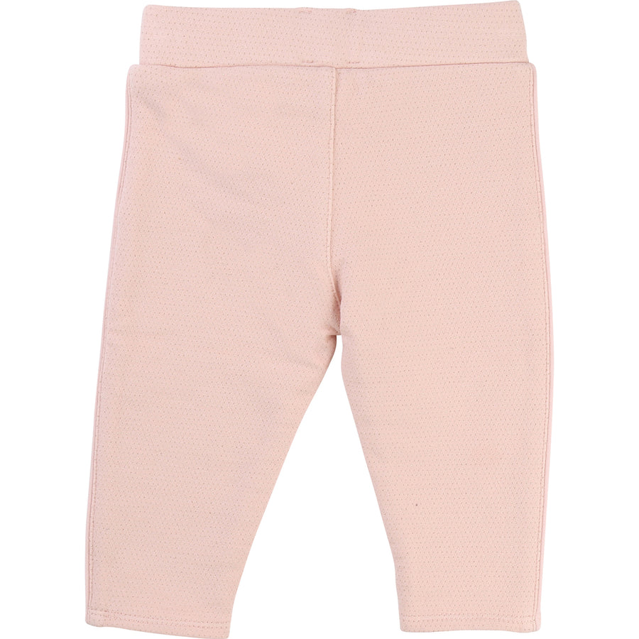 CARREMENT BEAU PINK TROUSERS-Pants-Carrément Beau-kids atelier