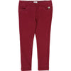 carrement-beau-burgundy-pants-y14075-95t