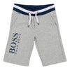 Boss Grey Bermuda Shorts-Shorts-BOSS-kids atelier