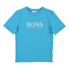 Boss Blue T-Shirt-T-Shirt-BOSS-kids atelier