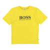 Boss Yellow T-Shirt-T-Shirt-BOSS-kids atelier