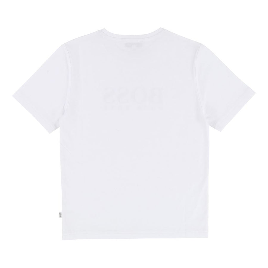 Boss White T-Shirt-T-Shirt-BOSS-kids atelier
