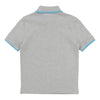 Boss Grey Polo T-Shirt-Polo-BOSS-kids atelier
