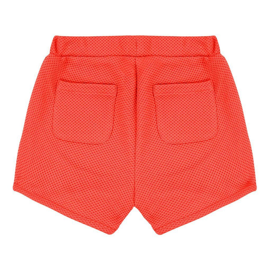 Deux  Par Deux Coral Cold Press Fashion Stretch Shorts