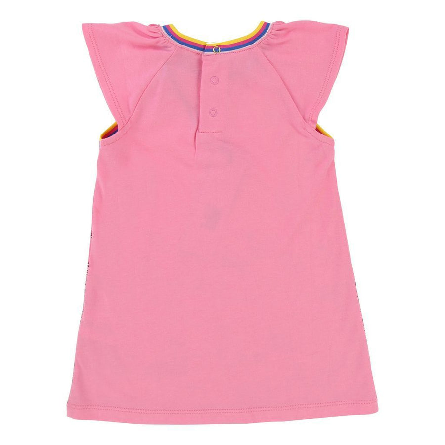 Little Marc Jacobs Pink Cartoon Dress-Dresses-Little Marc Jacobs-kids atelier