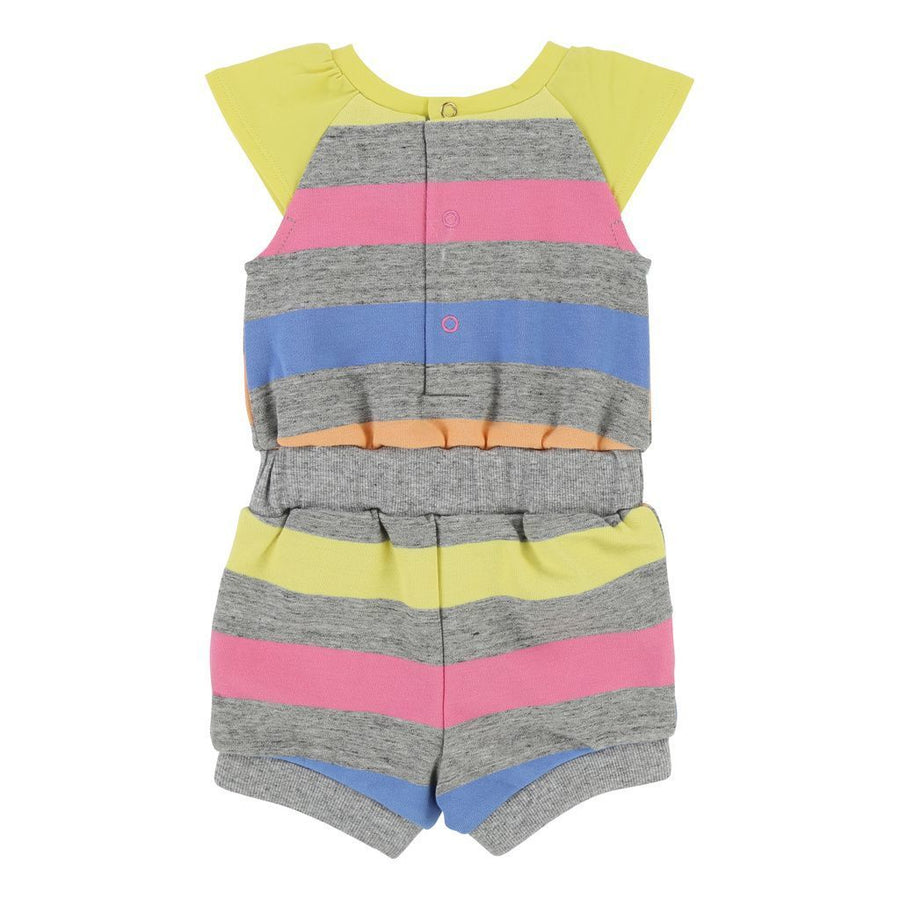 Little Marc Jacobs Gray Popsicle Romper-Bodysuits-Little Marc Jacobs-kids atelier