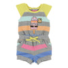 Little Marc Jacobs Gray Popsicle Romper