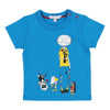 Little Marc Jacobs Blue Mr Marc T-Shirt