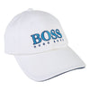 BOSS White Logo Cap-Accessories-BOSS-kids atelier