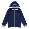 BOSS Navy Zip Cardigan-Outerwear-BOSS-kids atelier