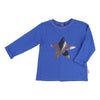 Billieblush Blue Star T-Shirt-Shirts-Billieblush-kids atelier