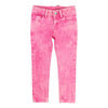 Billieblush Pink Denim Pants-Pants-Billieblush-kids atelier