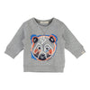Billybandit Gray Panda Sweatshirt