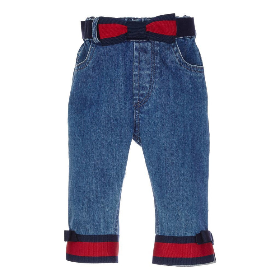 LAPIN HOUSE BLUE DENIM JEANS