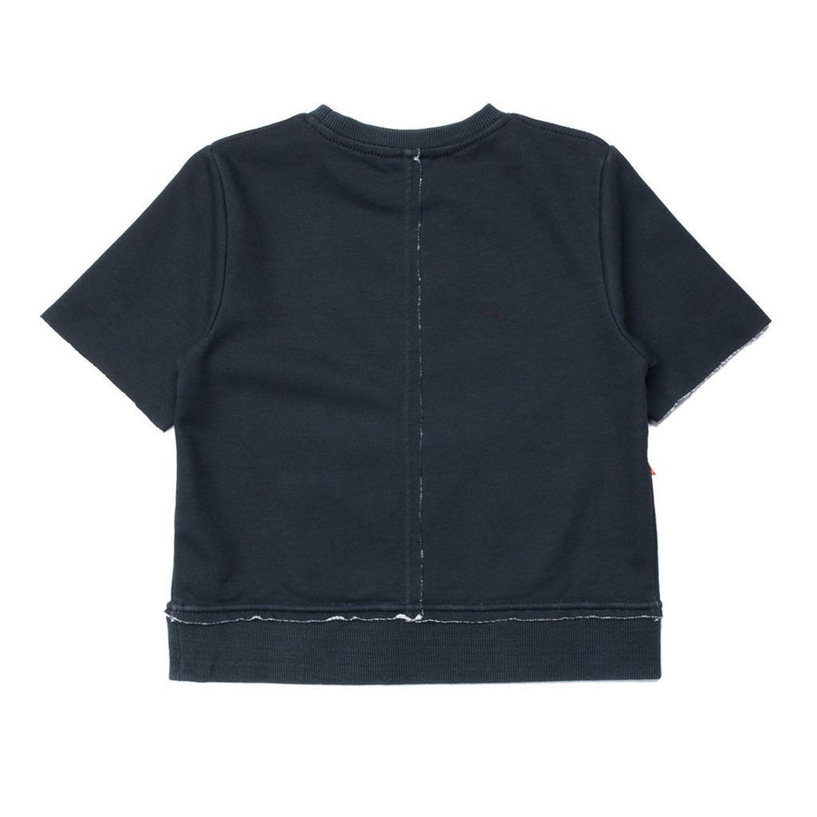 SUPERISM BLACK ATTICUS FLEECE-Shirts-Superism-kids atelier