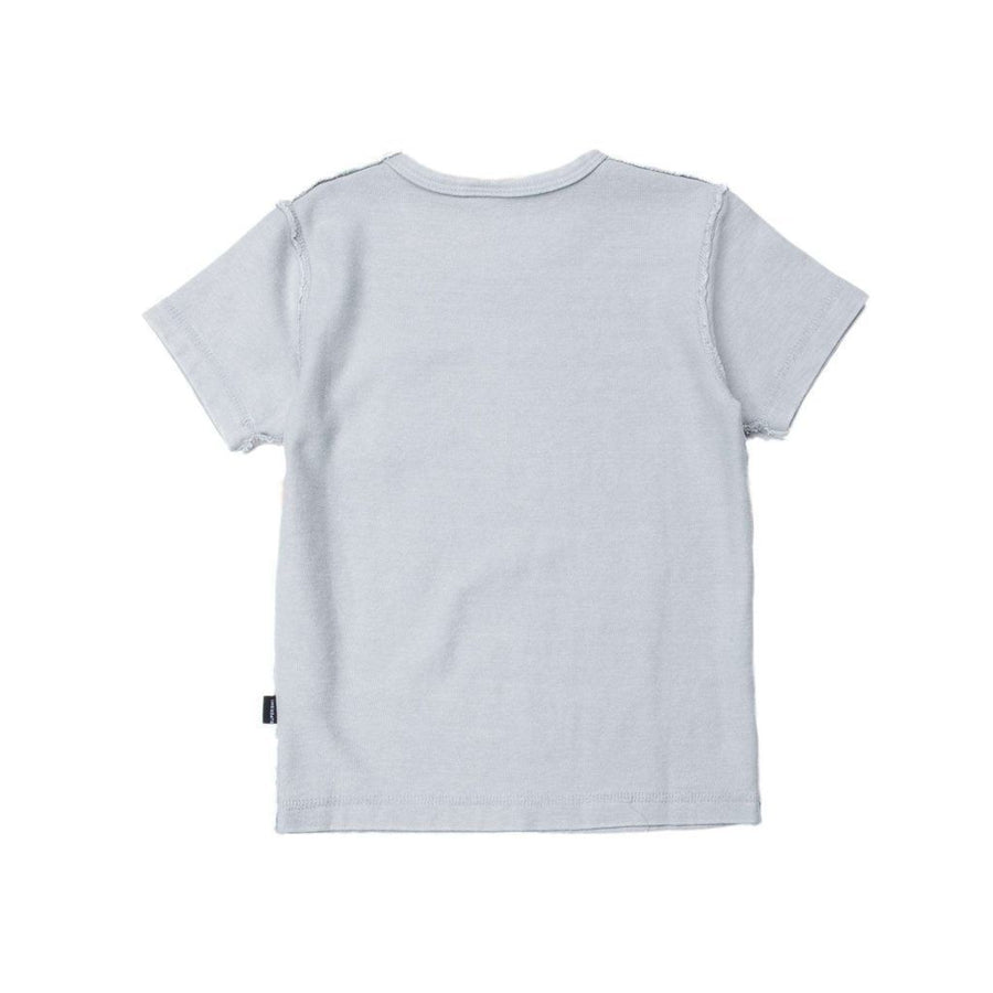 SUPERISM GRAY EMERY T-SHIRT-Shirts-Superism-kids atelier
