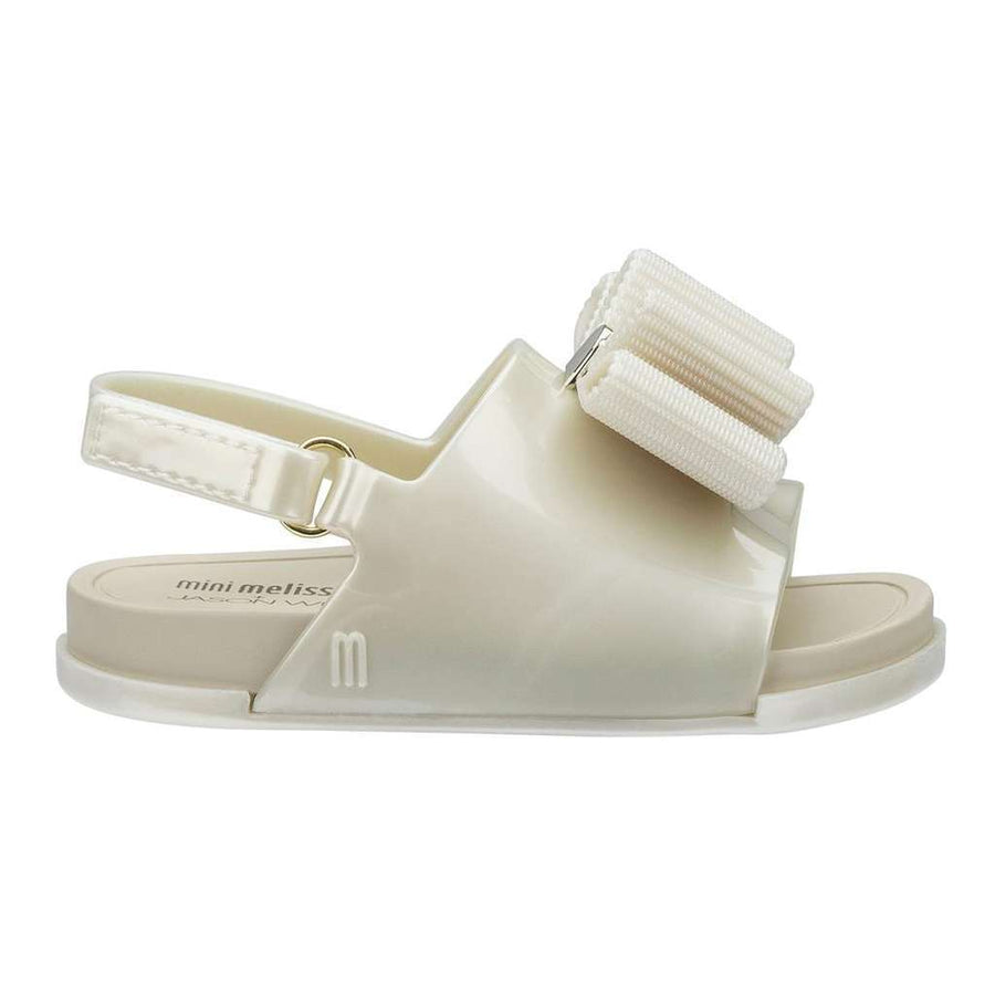 MINI MELISSA PEARL MINI BEACH SLIDE SANDAL + JASON WU