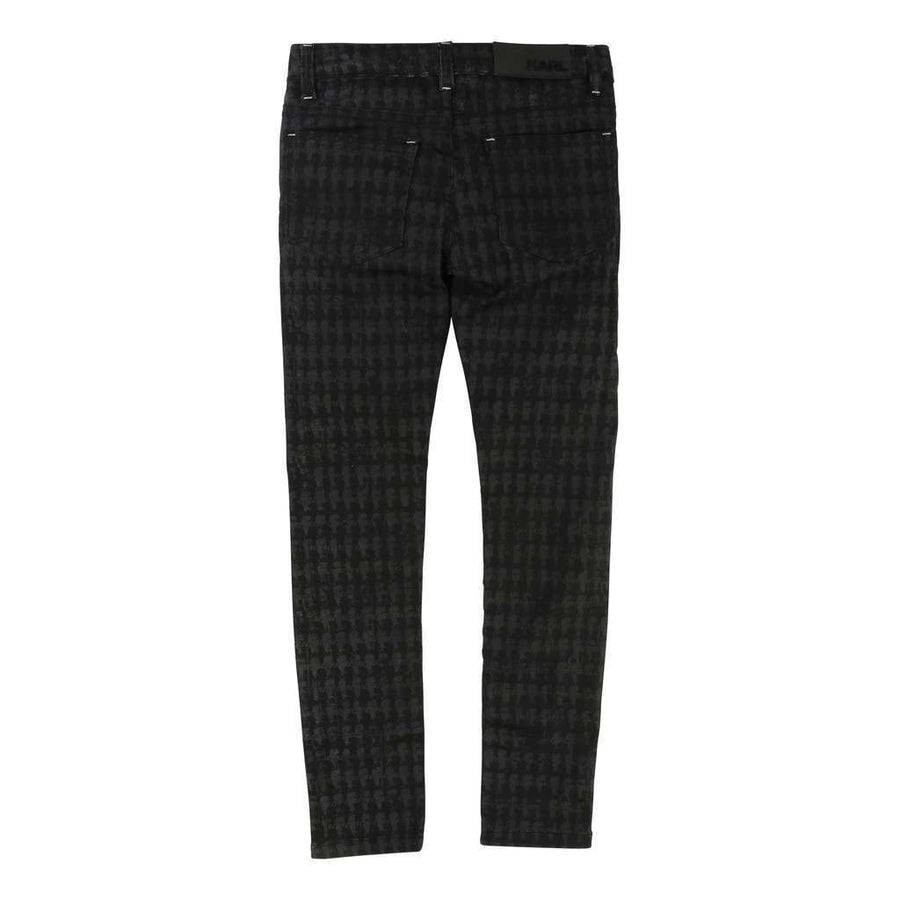 karl-lagerfeld-black-plaid-trousers-z14035-09b