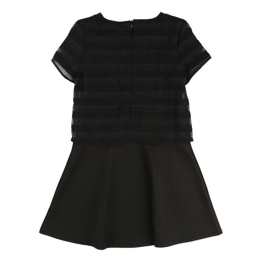 Karl Lagerfeld Black Dress-Dresses-Karl Lagerfeld-kids atelier