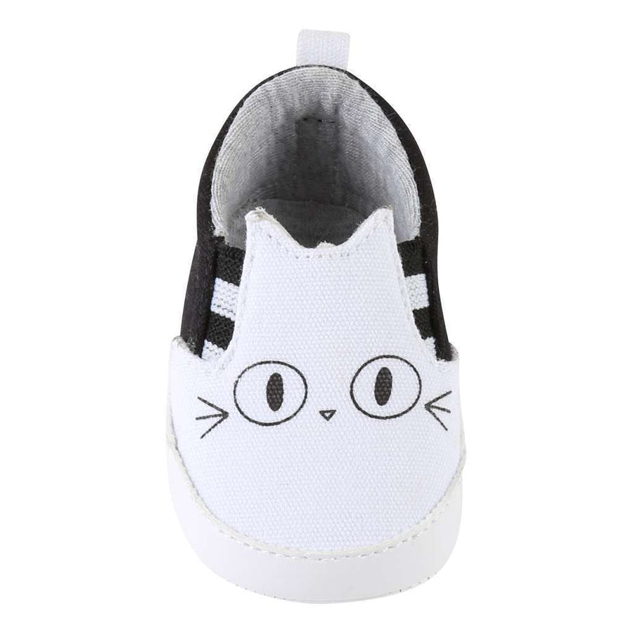karl Lagerfeld Black & White Slip On Shoes-Shoes-Karl Lagerfeld-kids atelier
