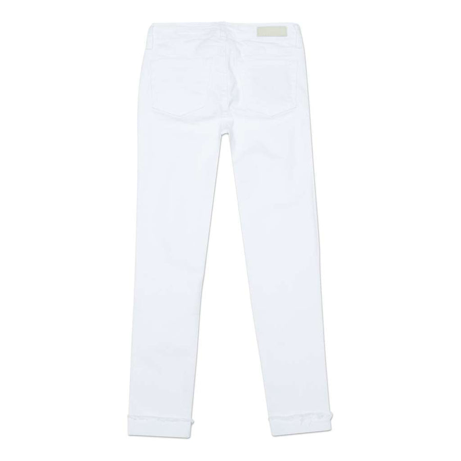 AG White Jane Crop Jeans
