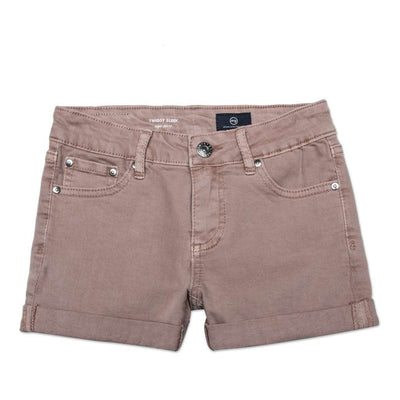 AG Eraser Pink The Karlie Short-Denim Jeans-AG-kids atelier