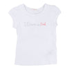 BLUSH-T-SHIRT-U15220-10B WHITE-Default-Billieblush-kids atelier