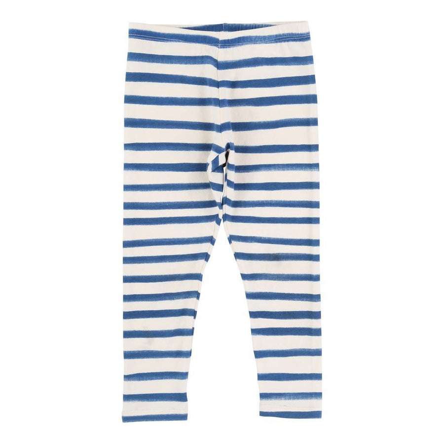 Billieblush Slate Blue Striped Leggings