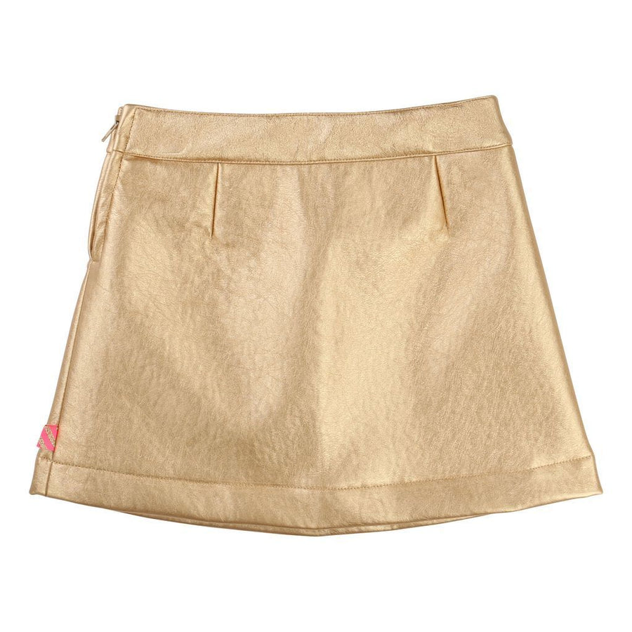 Billieblush Metallic Gold Skirt