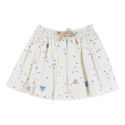 BLUSH-SKIRT-U13057-148 IVORY-Default-Billieblush-kids atelier