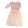 BLUSH-DRESS-U12258-449 PALE PINK-Default-Billieblush-kids atelier