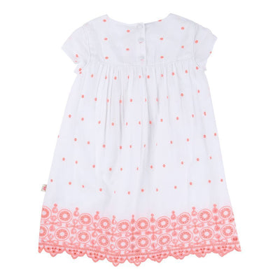 BLUSH-DRESS-U12148-10B WHITE-Default-Billieblush-kids atelier