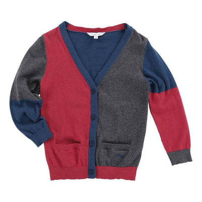 JACOB-KNITTED CARDIGAN-W25103-971 RED-Default-Little Marc Jacobs-kids atelier