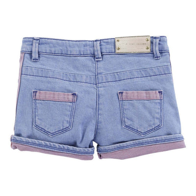 JACOB-DENIM SHORTS-W14067-Z10 DENIM BLUE-Default-Little Marc Jacobs-kids atelier