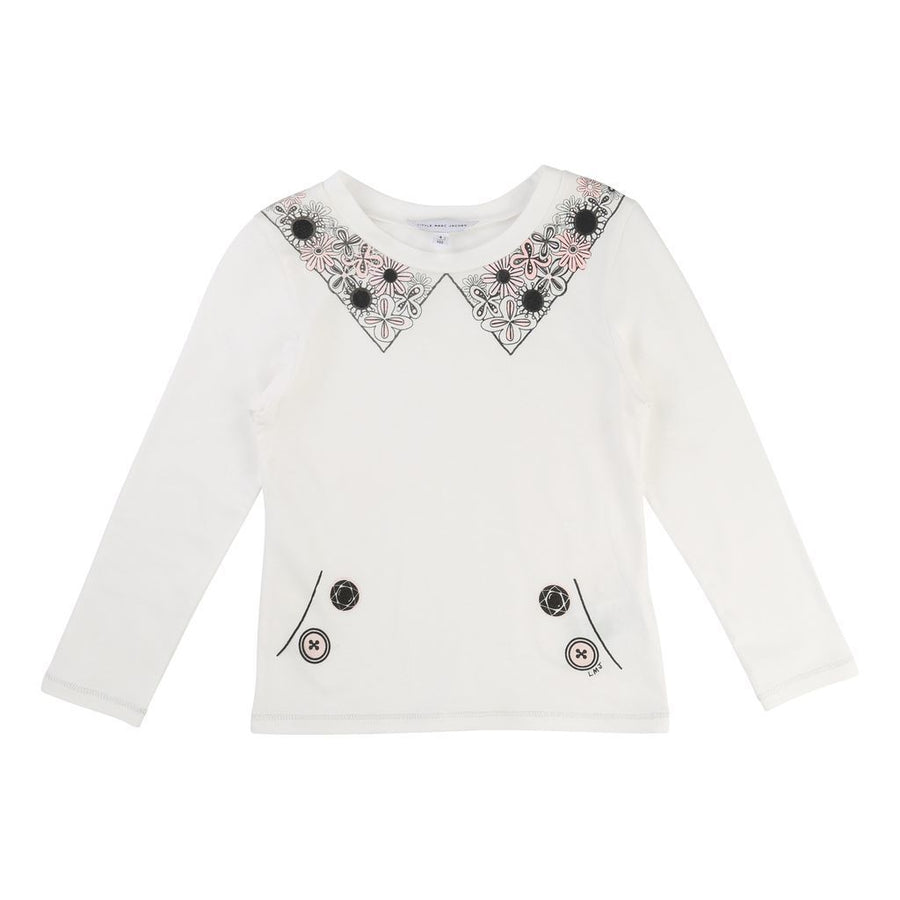 JACOB-FW16-KG-LONG SLEEVE T-SHIRT-W15293-117-Default-Little Marc Jacobs-kids atelier