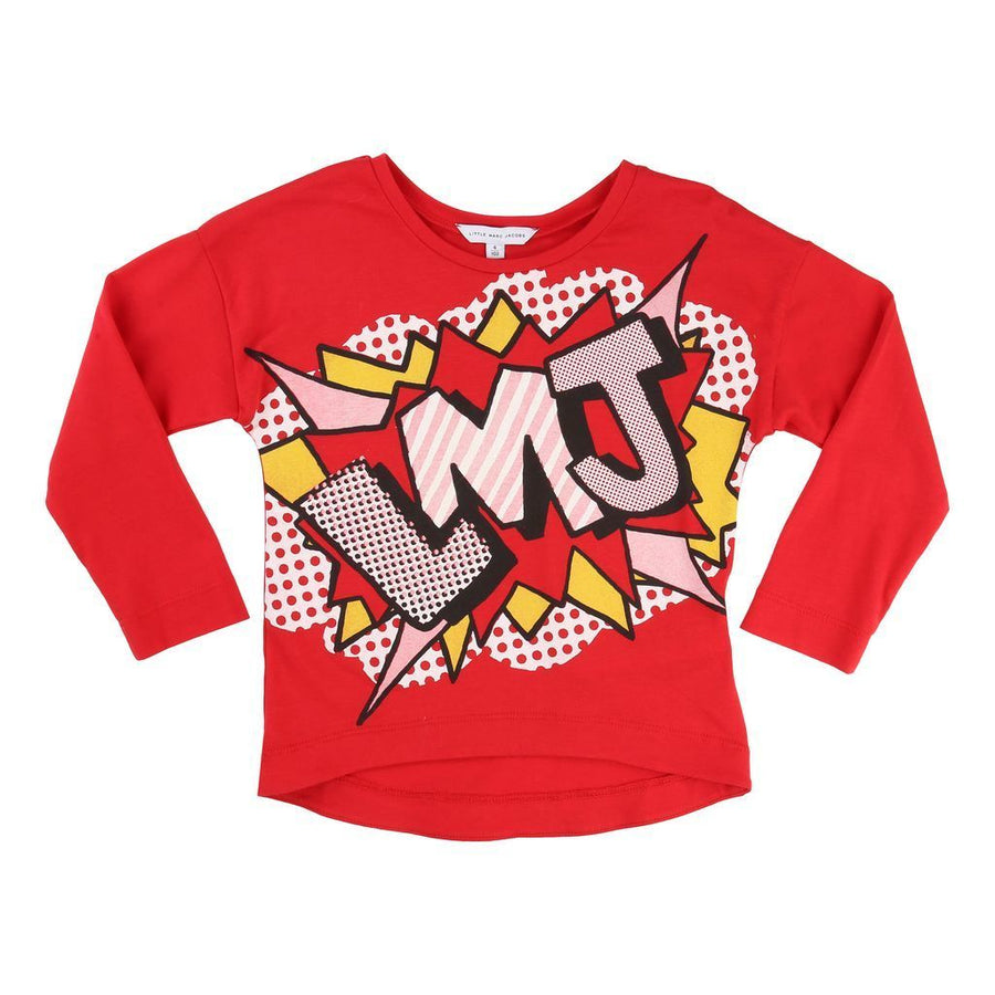 Red Comic T-Shirt