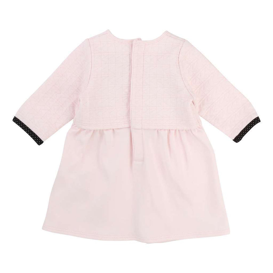 Karl Lagerfeld Pink Dress+Headband
