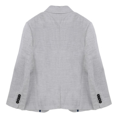 BOSS LIGHT GRAY SUIT JACKET-Outerwear-BOSS-kids atelier