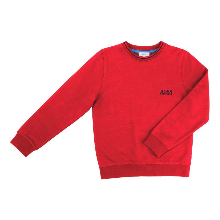 BOSS-SWEATSHIRT-J25985-97S RED-Default-BOSS-kids atelier
