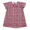 JACOB-ALL IN ONE DRESS-W92011-S11 PINK  DARK RED  WHITE