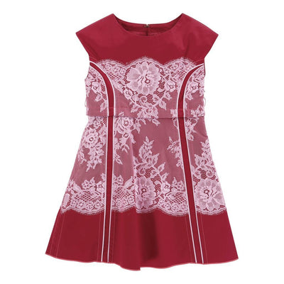 Little Marc Jacobs Dark Red Dress-Default-Little Marc Jacobs-kids atelier
